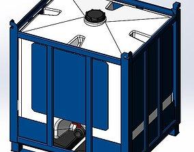 3D model Assmans-ACO Container - Pallet Tank - PTC-200