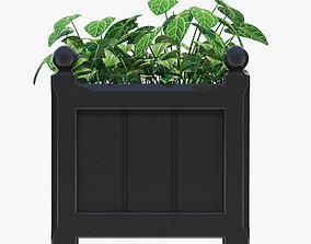 3D model 38cm Windsor Small Planter 2