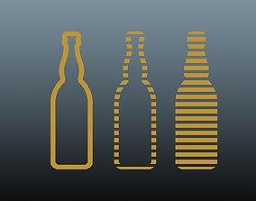3D asset Beer symbol 2