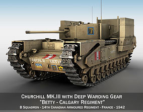 Churchill MK III - Betty 3D