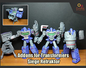 Addons for Transformers Siege Refraktor 3D print model