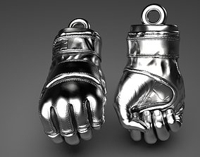 MMA Fighting Gloves 3D print model