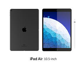 iPad Air 10 5-inch Space Gray 3D