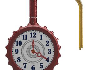 Swatch Mounted Wall Clock - Design A 3D print model
