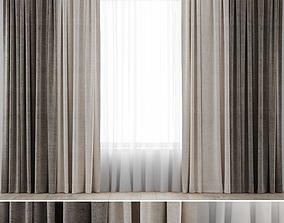 Curtains 04 furniture 3D