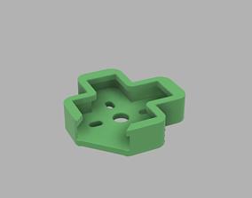 3D print model Frame Spare Part Mount Motor Protector 4