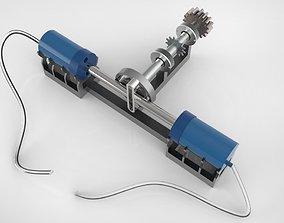 Scotch-Yoke Compressor 3D