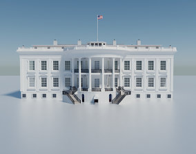 3D The White House Washington