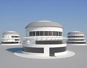 3D asset Industrial Building 05