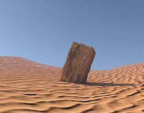 Acient Stone Block 3D model