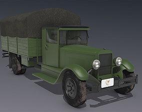 ZIS 8 Truck 1934 3D model