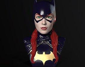 3D print model Bust - Batgirl