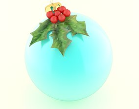 christmas ball 3D model candy