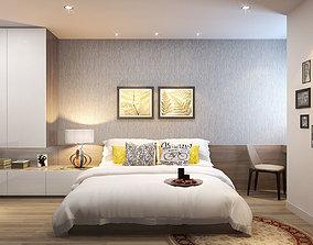 Apartment bedroom 2 3D model