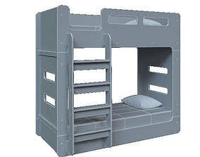 3D bed for kids
