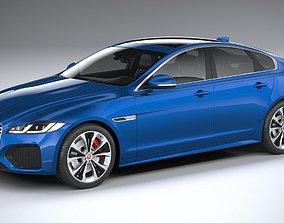 3D model Jaguar XF 2021