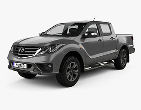 3D Mazda BT-50 Double Cab 2018