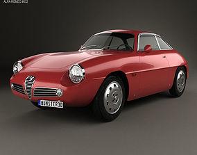 Alfa Romeo Giulietta 1960 mk1 3D model