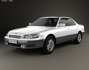 3D model Lexus ES 1992