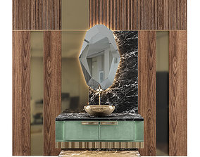 3D LUXURY - Wash Basin 08