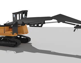 Forest Harvester 3D asset