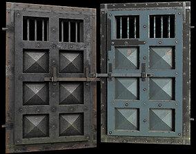 3D asset medieval Door - Game-Ready - AR VR