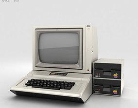 Apple II Computer 3D