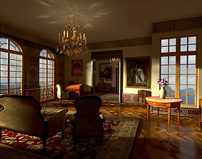 Victorian Furniture Pack 3D model