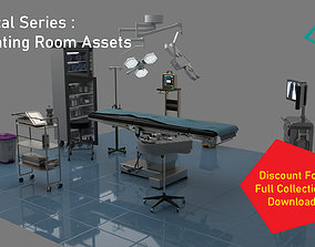 3D model surgery Medical Series - Operating Room Assets