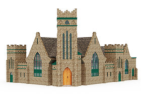 Greenwood Baptist Church 3D