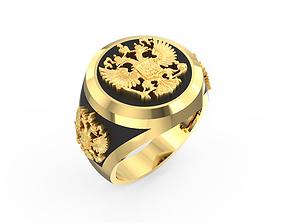 3D print model Russian Empire Ring