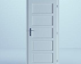 3D White Door 34