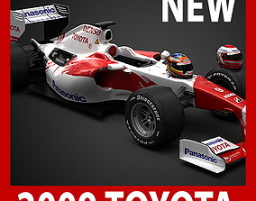 3D model F1 2009 Panasonic Toyota TF109
