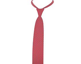 Red Tie 3D