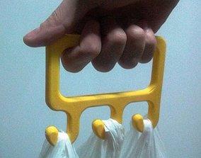 3D print model bag holder