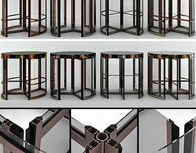 loft Revolving entrance doors 3D model