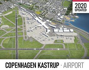 Copenhagen Kastrup Airport - CPH 3D model