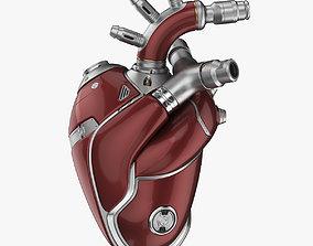 Cyber Heart 2 3D model