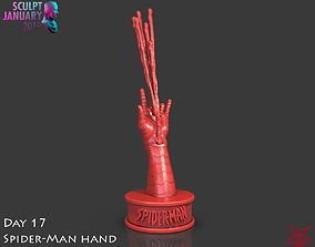 Spider-Man Hand Timelapse and Model