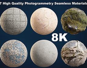 7 High Quality Photogrammetry Seamless PBR 3D asset 1