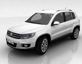 3D asset VW Tiguan