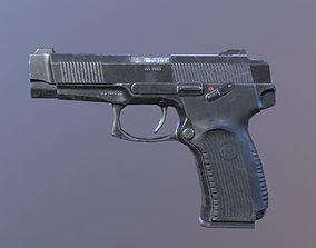 3D asset Lowpoly MP-443 Grach Yarygin Pistol