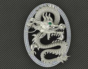 dragon 3D printable model chinese