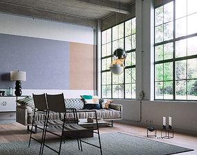Industrial Loft 3D model furniture