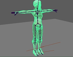 3D model Realistic Girl