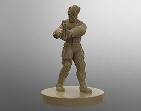 Cyberpunk Smuggler 30mm Printable Miniature Free
