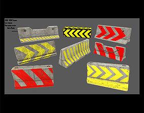 3D asset barrier set 6