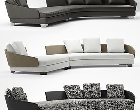3D model minotti lawson arrangement E