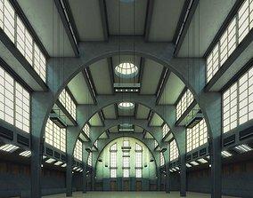 Spacious Hall 3D