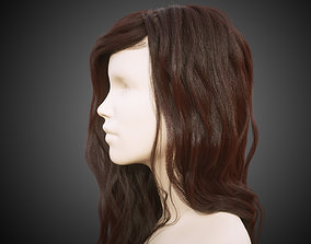 Long hair for production render in Octane and Ornatrix 3D